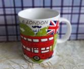Чашка керамика London