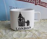 Чашка Лондон + Ложка