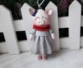 Игрушка на елку Pig