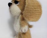 Игрушка Собака крючком