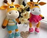 Игрушки жирафы ПАРОЧКА