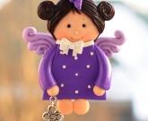 Куколка из глины Бабочка