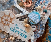 Мужская открытка Капитан