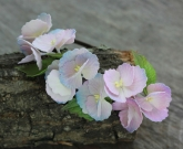 Обруч цветы Гортензия