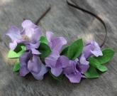 Обруч Клематис цветы