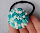 Резинка для волос Winter roses