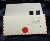 Свадебная открытка Конверт