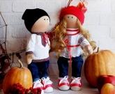 Украинская кукла Пара