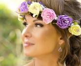 Венок Лаванда и цветы