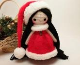 Вязанная кукла Santa
