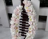 Заколка банан Cute Flowers
