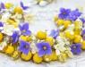 Браслет цветы Літечко