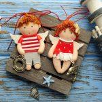 Куклы-подвески из полимерной глины – милый и оригинальный подарок для любимых