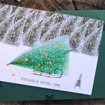 Новогодняя открытка Tree
