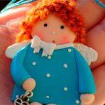 Куколка Снежинка