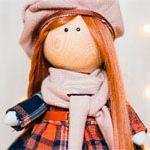 Кукла текстильная Модняша
