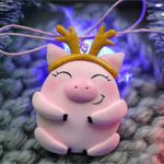 Игрушка на елку Pink Pig