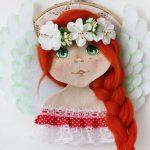 Авторские куклы ангелы — игрушка оберег для ваших самых родных и близких