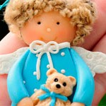 Куколка из глины Doll & Bear