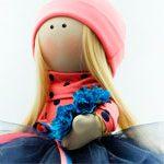 Кукла текстильная Сонечко