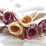 Заколка цветы из Фоамирана