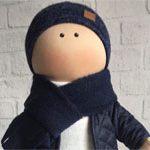 Кукла текстильная Парень