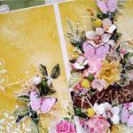 Свадебная открытка LOVE