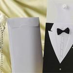 Свадебная Открытка Смокинг