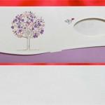 Женская открытка Tree