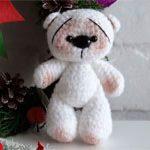 Игрушка мишка Снежок