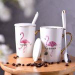 Керамические чашки с птицей фламинго — это подарки-символы исполнения ваших желаний, любви