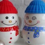 Сувенирные чашки Снеговик