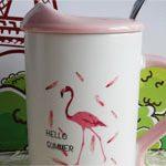 Большая кружка Фламинго