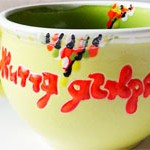 Чашка керамика Yellow