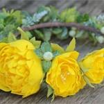 Ободок Цветы Лета