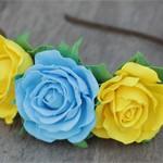 Обруч для волос с цветами Роз