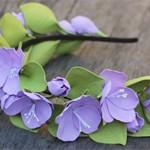 Обруч цветы Яблони