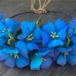 Венок Лен цветы