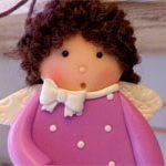 Куколка из глины Sweet