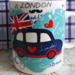 Чашка Лондон Car