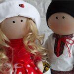Украинские куклы Парочка