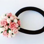 Резинка для волос Бутоны роз