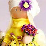 Кукла текстильная Sun