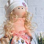 Кукла текстильная Квіточка