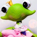 Лягушка игрушка