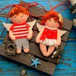 Куклы подвески Морячки