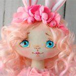 Кукла текстильная Зая