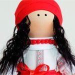 Кукла текстильная Ukraine