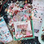 Открытка Рождество Камин