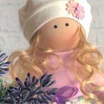 Интерьерная кукла Flower
